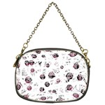 White and red soul Chain Purses (Two Sides)  Front