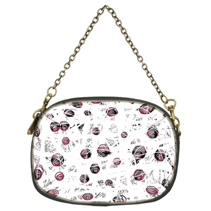 White and red soul Chain Purses (Two Sides)