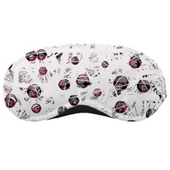 White and red soul Sleeping Masks