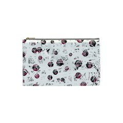 White and red soul Cosmetic Bag (Small)
