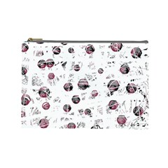 White and red soul Cosmetic Bag (Large)