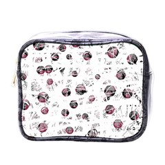 White and red soul Mini Toiletries Bags