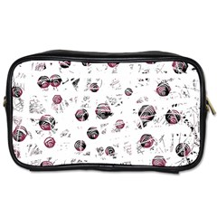 White and red soul Toiletries Bags 2-Side
