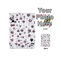 White and red soul Playing Cards 54 (Mini)