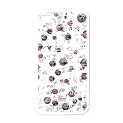 White and red soul Apple iPhone 4 Case (White)