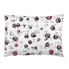 White and red soul Pillow Case (Two Sides)
