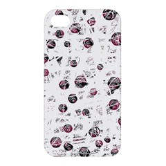 White and red soul Apple iPhone 4/4S Hardshell Case