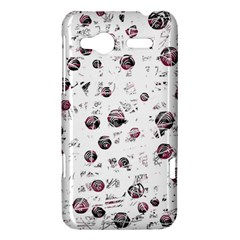 White and red soul HTC Radar Hardshell Case