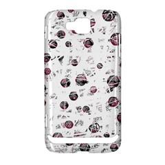 White and red soul Samsung Ativ S i8750 Hardshell Case