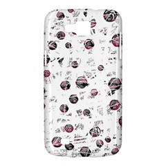 White and red soul Samsung Galaxy Premier I9260 Hardshell Case