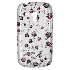 White and red soul Samsung Galaxy S3 MINI I8190 Hardshell Case