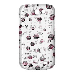 White and red soul Samsung Galaxy Express I8730 Hardshell Case