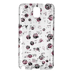 White and red soul Samsung Galaxy Note 3 N9005 Hardshell Case