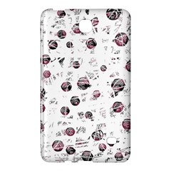 White and red soul Samsung Galaxy Tab 4 (7 ) Hardshell Case