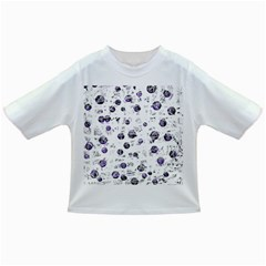 White and blue soul Infant/Toddler T-Shirts