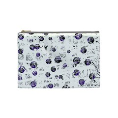 White and blue soul Cosmetic Bag (Medium)