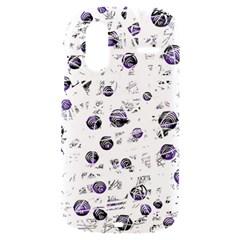 White and blue soul HTC Amaze 4G Hardshell Case