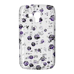 White and blue soul Samsung Galaxy Duos I8262 Hardshell Case