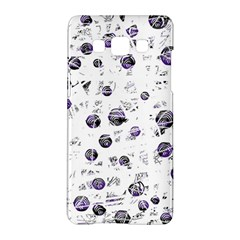 White and blue soul Samsung Galaxy A5 Hardshell Case