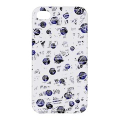 White and deep blue soul Apple iPhone 4/4S Hardshell Case