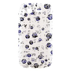 White and deep blue soul HTC Desire S Hardshell Case