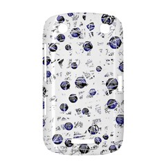 White and deep blue soul BlackBerry Curve 9380