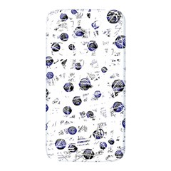 White and deep blue soul Samsung Note 2 N7100 Hardshell Back Case