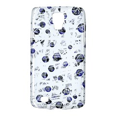 White and deep blue soul Galaxy S4 Active