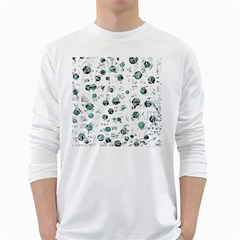 White and green soul White Long Sleeve T-Shirts