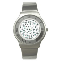 White and green soul Stainless Steel Watch