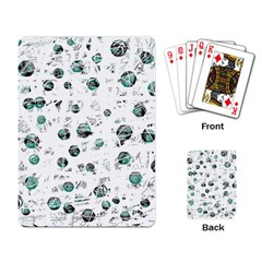 White and green soul Playing Card