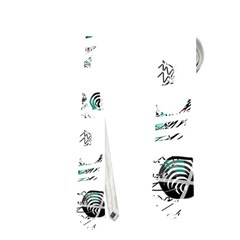 White and green soul Neckties (One Side)