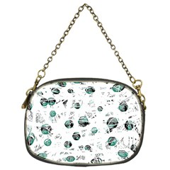 White and green soul Chain Purses (One Side)