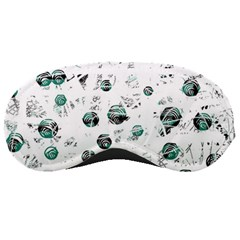 White and green soul Sleeping Masks