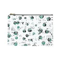 White and green soul Cosmetic Bag (Large)