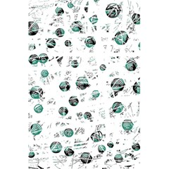 White and green soul 5.5  x 8.5  Notebooks