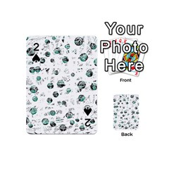 White and green soul Playing Cards 54 (Mini)