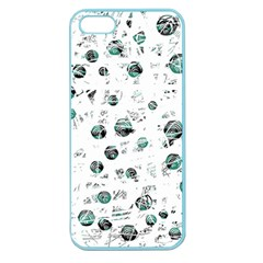 White and green soul Apple Seamless iPhone 5 Case (Color)