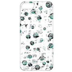 White and green soul Apple iPhone 5 Classic Hardshell Case