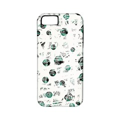 White and green soul Apple iPhone 5 Classic Hardshell Case (PC+Silicone)