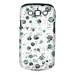 White and green soul Samsung Galaxy S III Classic Hardshell Case (PC+Silicone)