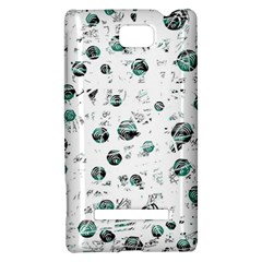 White and green soul HTC 8S Hardshell Case