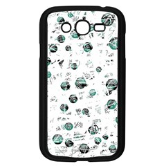White and green soul Samsung Galaxy Grand DUOS I9082 Case (Black)
