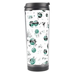 White and green soul Travel Tumbler