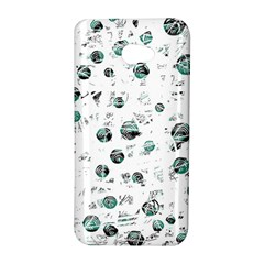 White and green soul HTC Butterfly S/HTC 9060 Hardshell Case