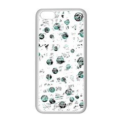 White and green soul Apple iPhone 5C Seamless Case (White)