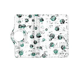 White and green soul Kindle Fire HD (2013) Flip 360 Case