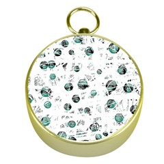 White and green soul Gold Compasses