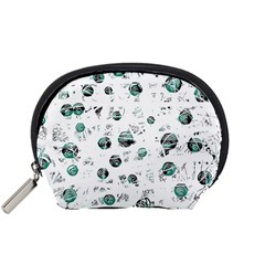White and green soul Accessory Pouches (Small)