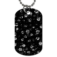Black and gray soul Dog Tag (One Side)